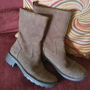 BORN chocolate boots
